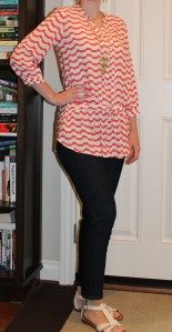 Patterened tunic from anthropologie