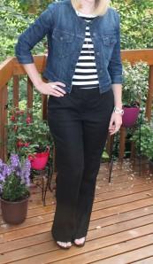 Black Linen trousers Ann Taylor Loft