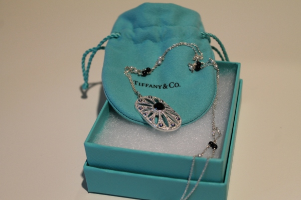 Tiffany and Co Gatsby collection necklace