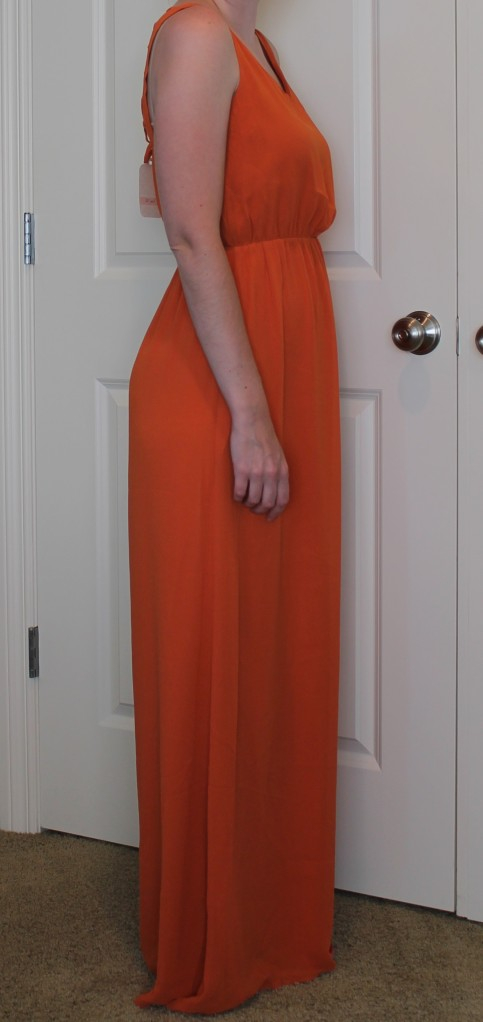 unflattering maxi