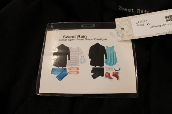 drapey cardigan