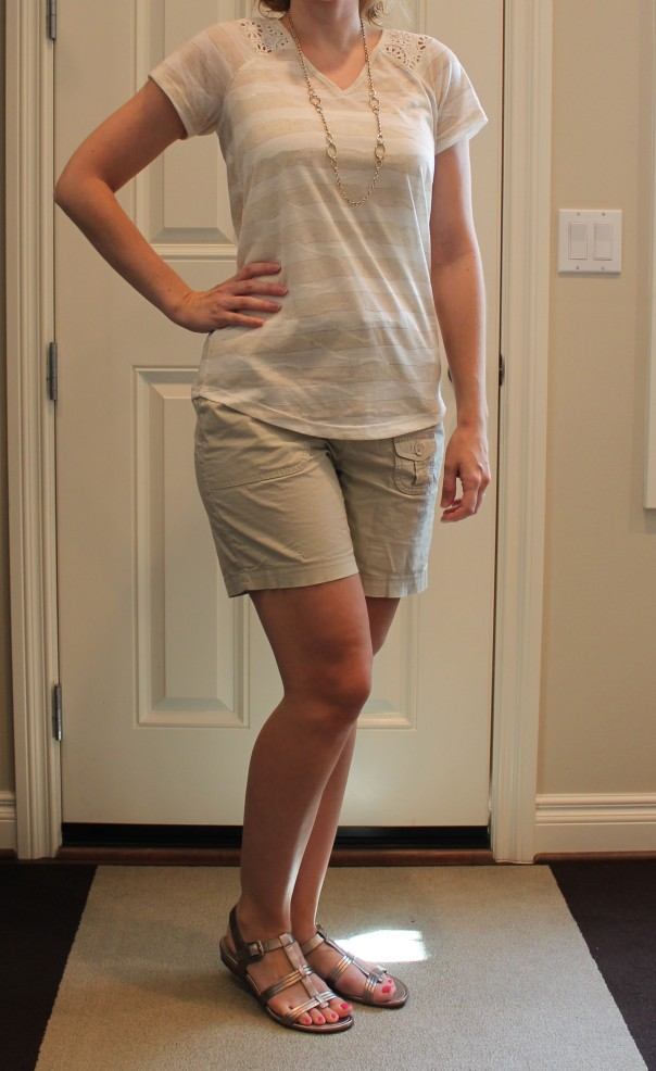 Crochet Tee outfit