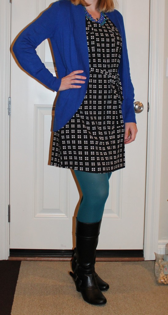 Stitch Fix Dress and tights
