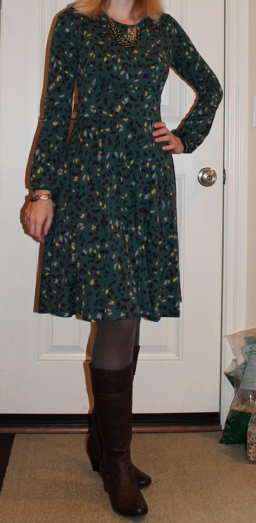 Green Boden dress
