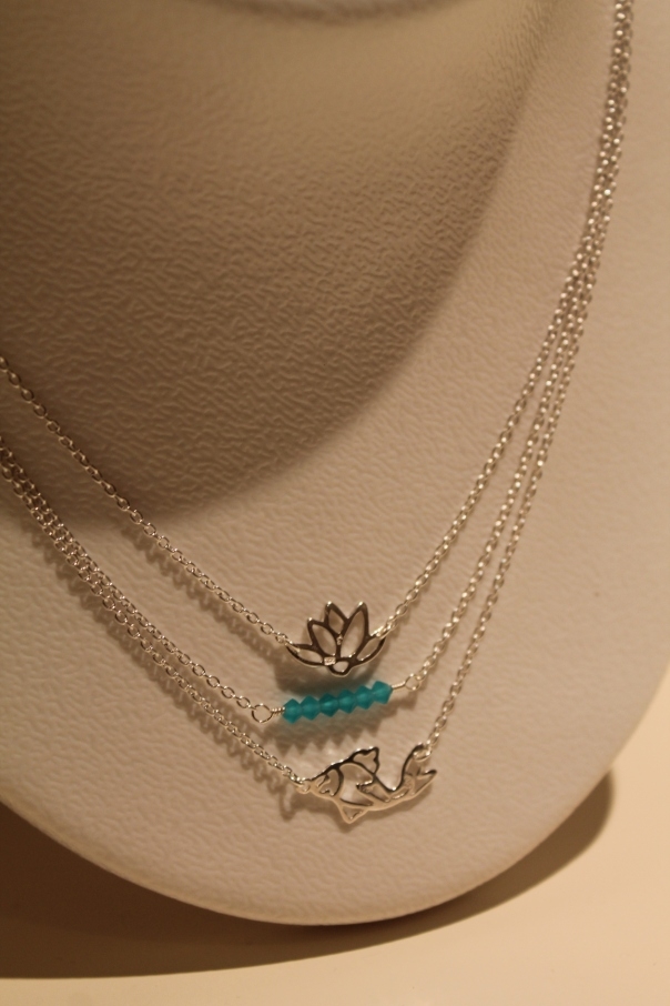 Lotus and the Koi Necklace