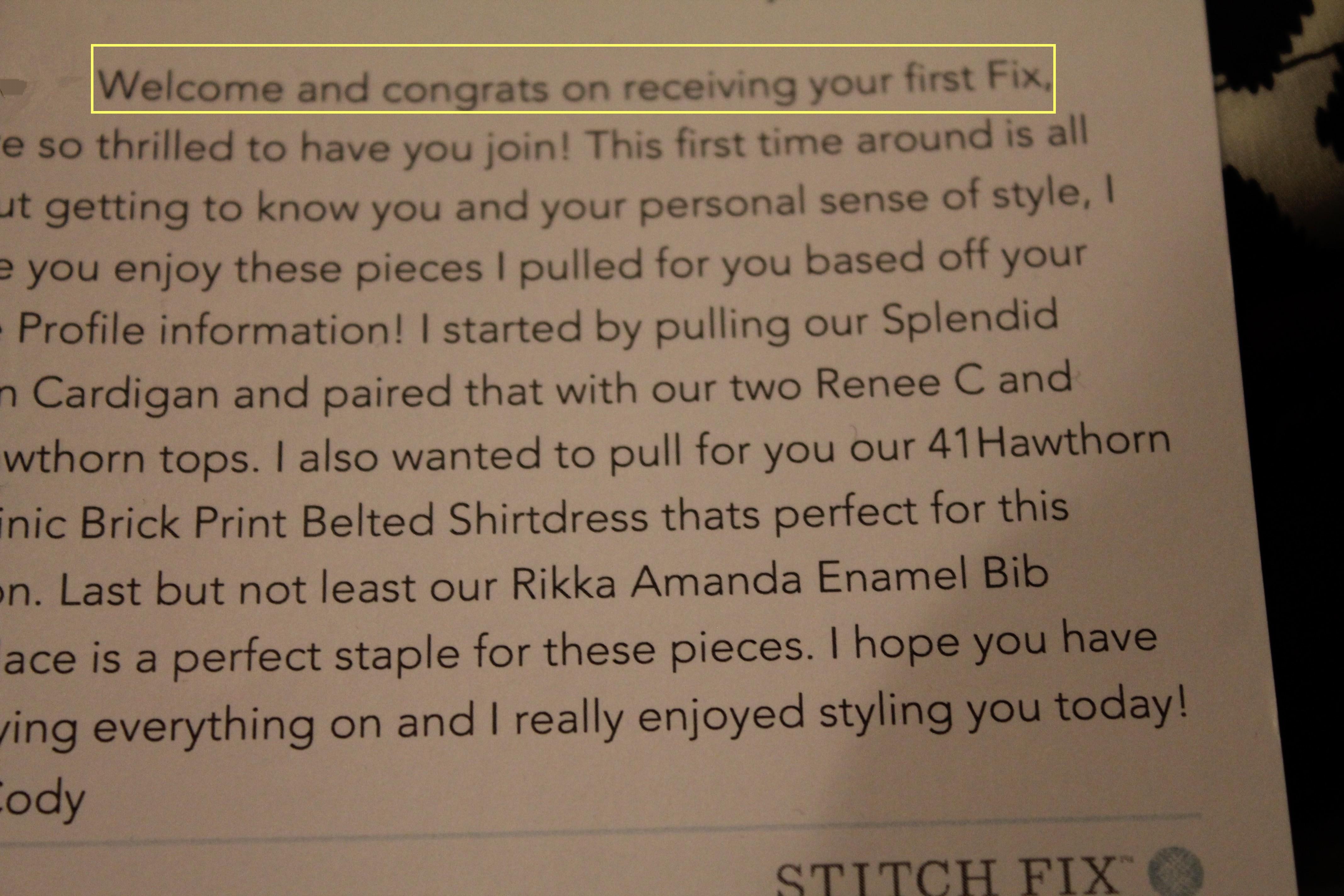 stitch fix stylist job