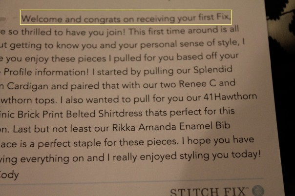 Stitch Fix 8