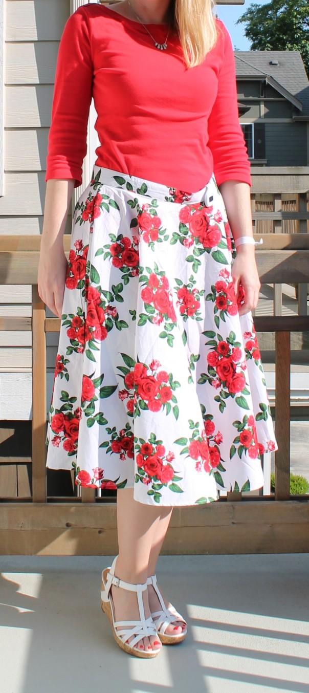 Full Vintage Style Skirt