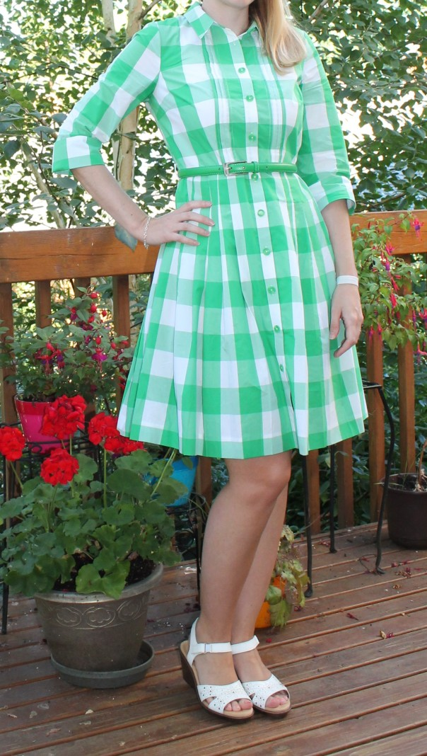 Boden - Gingham Shirt Dress