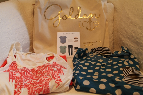 Golden Tote July 2014 Review