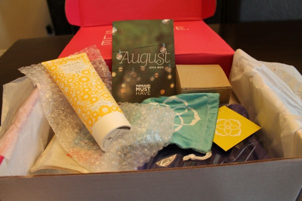 August PopSugar Must Have Box Review