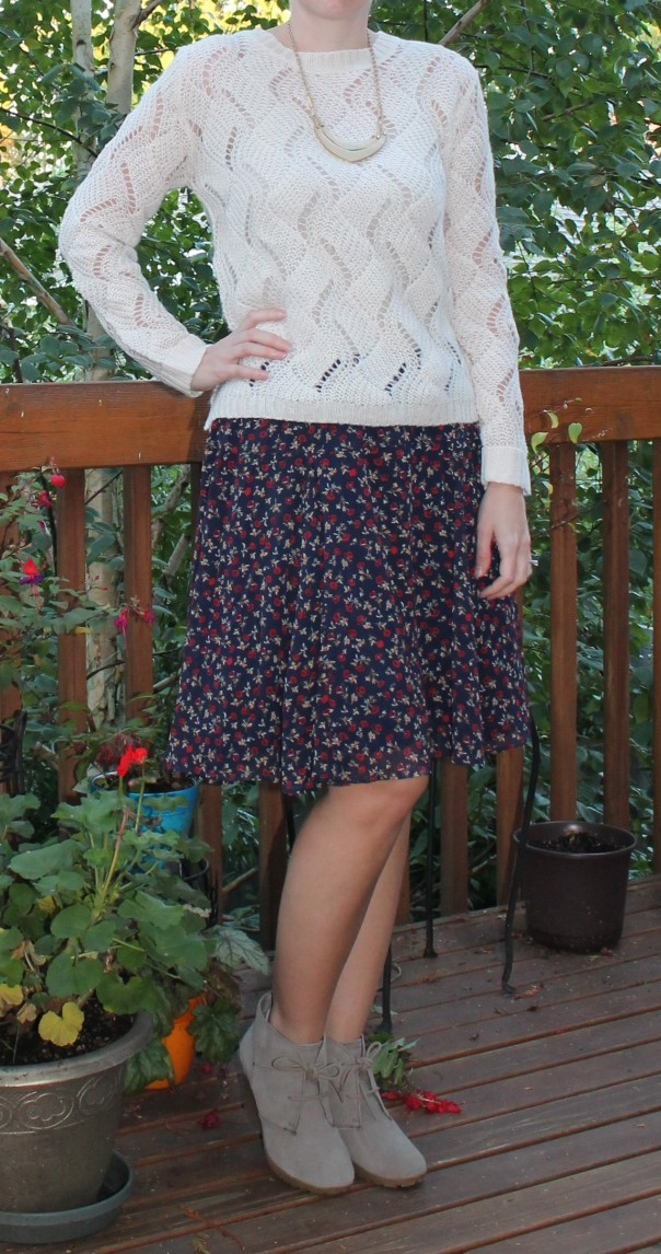 Floral Skirt Old Navy
