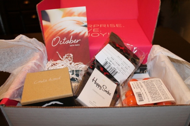 Popsugar Must Have Box October 2014