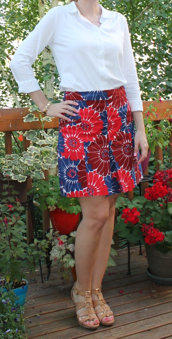 Boden Skirt and Top