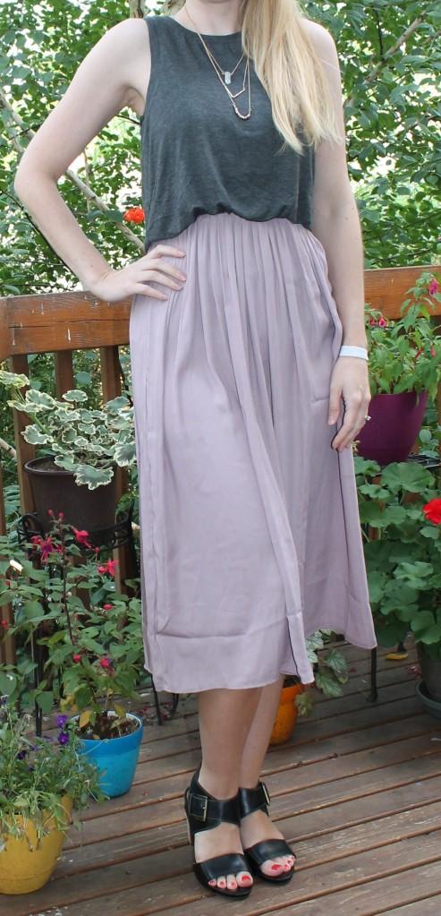 Loft Midi Dress